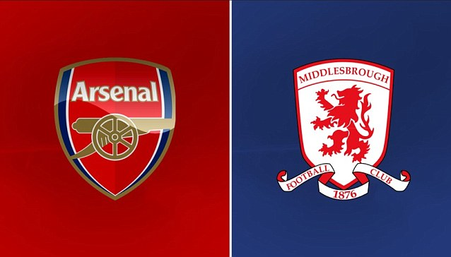 Soi kèo Middlesbrough vs Arsenal,