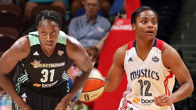 Washington Mystics vs New York Liberty