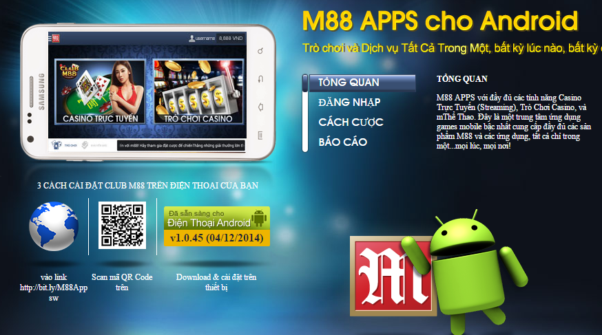 M88 apps