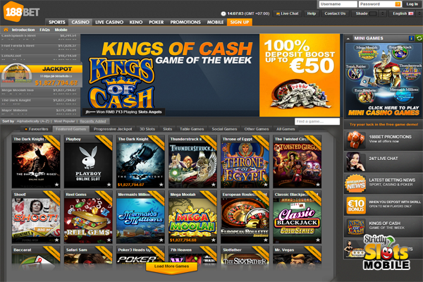 188BET cổng game slot