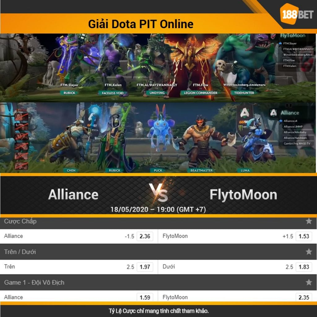 Alliance vs FlyToMoon