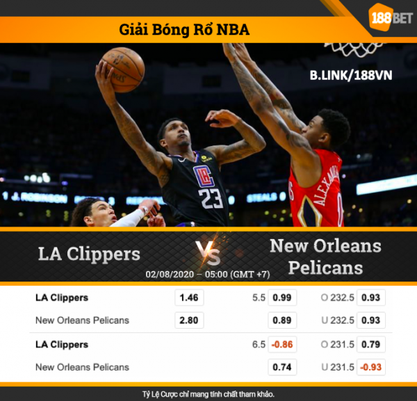Los Angeles Clippers vs New Orleans Pelicans
